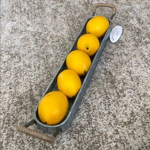 Pier 1 Farmhouse Metal Tray